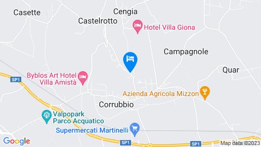 Villa Betteloni Map
