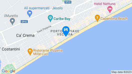 Hotel Majestic  Map