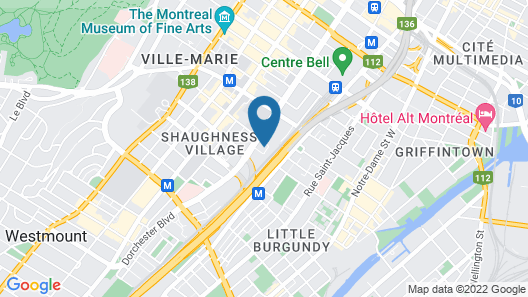Corporate Stays Le Shaughn Apartments Map