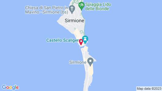 Hotel Sirmione e Promessi Sposi Map