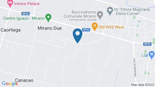 Villa Mocenigo Map