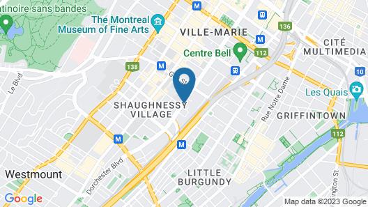 Le Nouvel Hotel & Spa Map