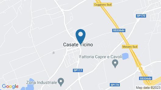 B&B Ca' Nobil Map