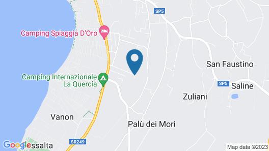 Hotel Bella Lazise Map