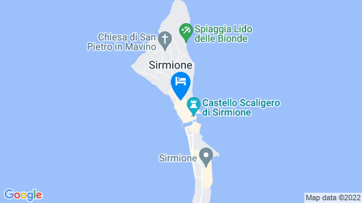 Hotel Marconi Map