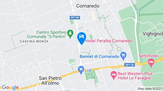 Peralba Auto Hotel Map