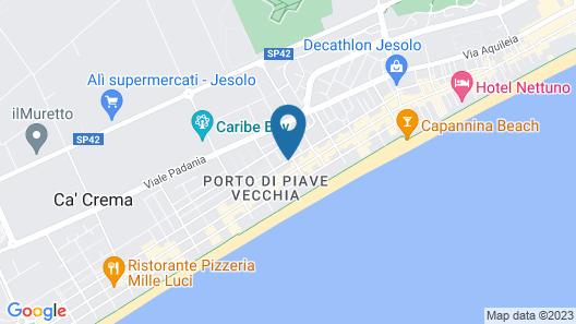 Domino Suite Hotel Map