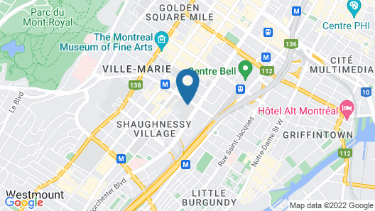 Residence Grey Nuns by Concordia University Map