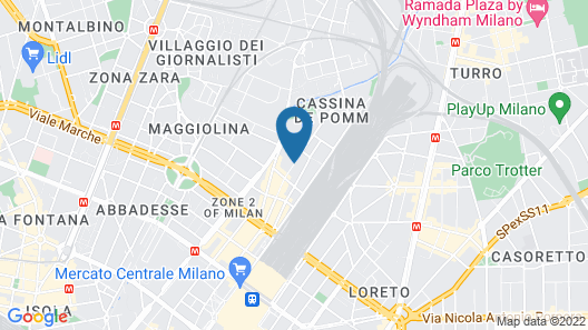 Hotel Centrale Map