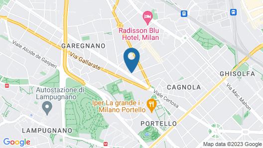 Hotel Raffaello Map