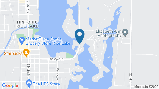 Curriers Lakeview Lodge Map