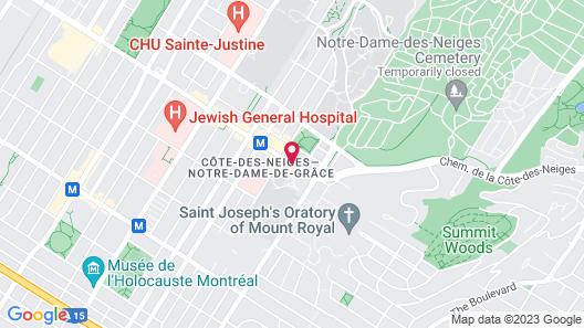 Hotel Terrasse Royale Map
