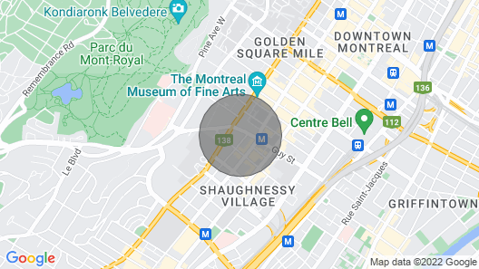 Downtown Purple Apartment Map
