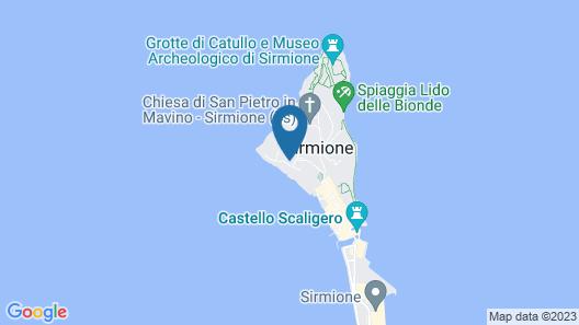 Hotel Serenella Map