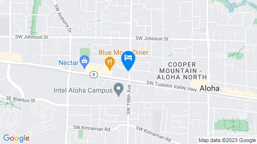 Aloha Inn & Suites Map