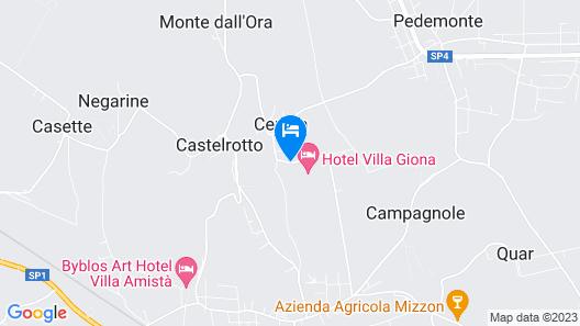 Hotel Villa Giona Map