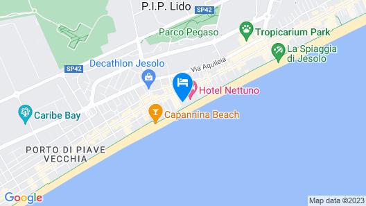 Hotel Plaza Esplanade Map
