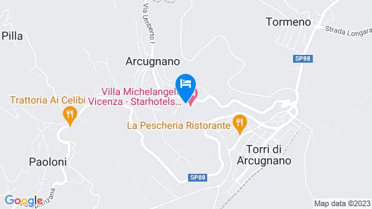 Villa Michelangelo Vicenza – Starhotels Collezione Map