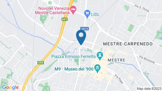LH Hotel Sirio Venice**** Map
