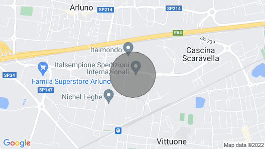 Milan House Comfortable Stay Map