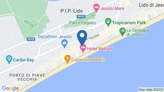 Appartamenti Gherbin Map