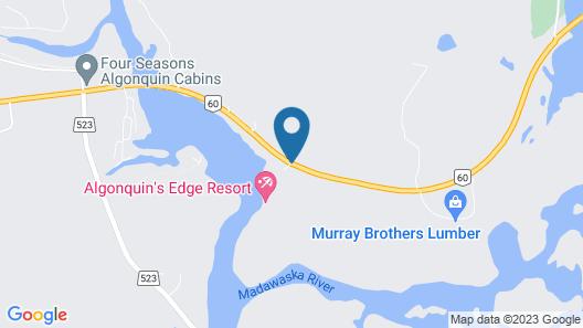 Algonquin's Edge Resort Map