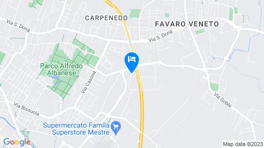 Villa Ca' D'Oro Map