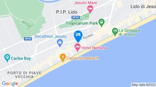 Residence Casalina Map