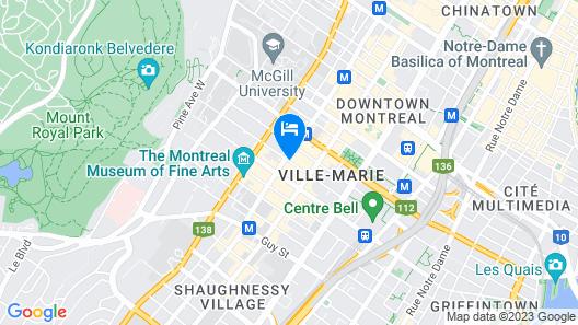 Hotel Chez Swann Map