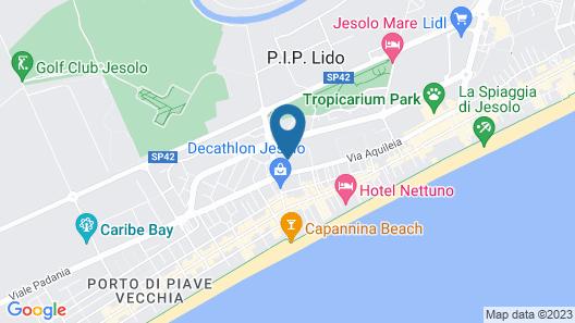 Appartamenti Dainese Map