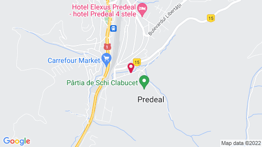 Cabana Fulg de Nea Map