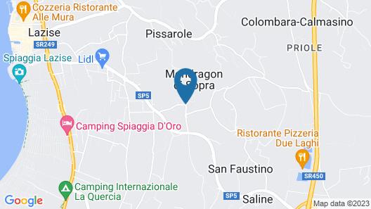 Residence Borgo Mondragon Map