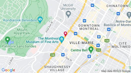 The Ritz-Carlton, Montréal Map