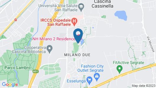 NH Milano 2 Residence Map