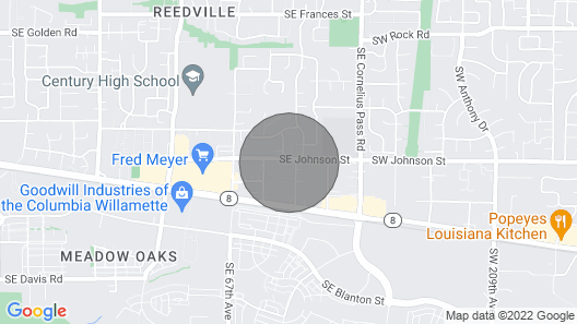 Brand New Place 4BR Close to Nike, Intel Map