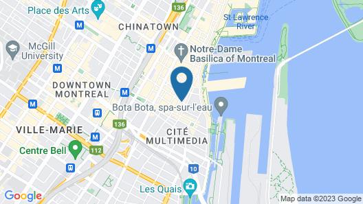 Auberge Alternative du Vieux-Montréal - Hostel Map