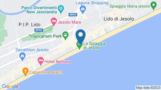 Residence & Hotel Villa Sorriso Map