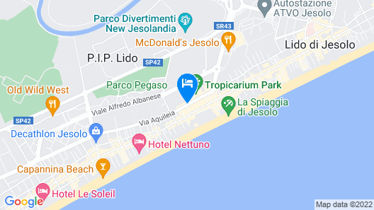Hotel Colombo Map