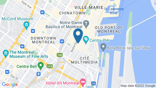 Hotel Gault Map