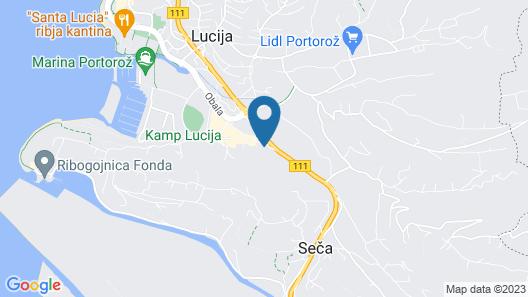 Rooms Koblar Map