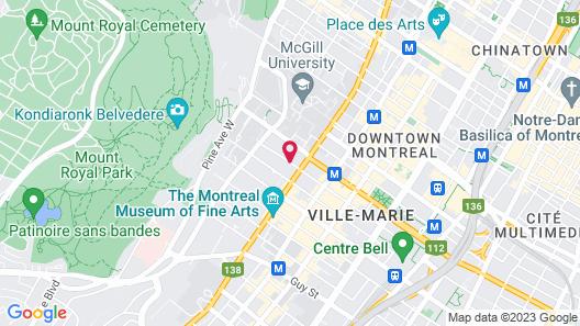Hotel Ambrose Map