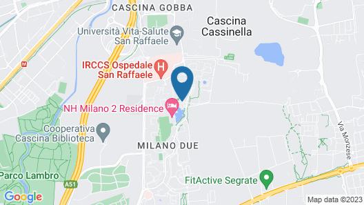 NH Milano 2 Map