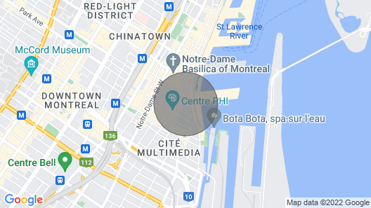 OLD Montreal Loft: Near IT ALL Map