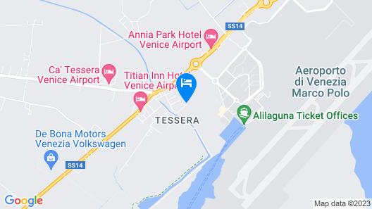 Dolce Laguna 2 Map