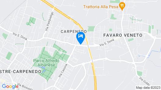 Venice CASA DONA '7 Seats Free Parking Map