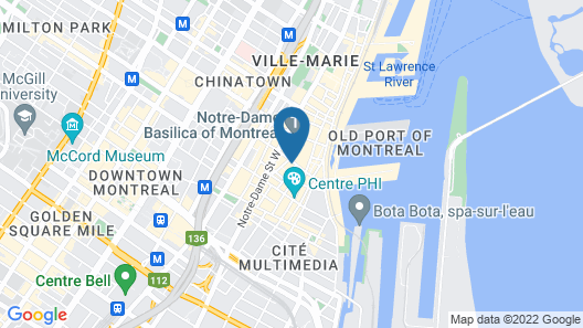Boutique Hotel Saint François Xavier Map