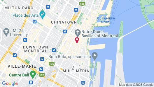 Hotel Bonaparte Map