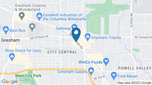 Motel 6 Gresham, OR - Portland Map
