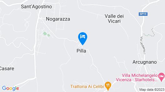 Relais Villa Gozzi B&B Map