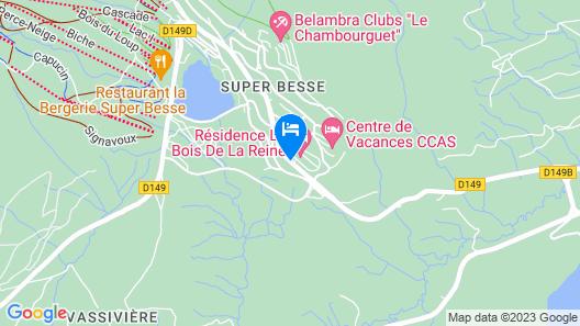 Résidence Le Bois de la Reine Map